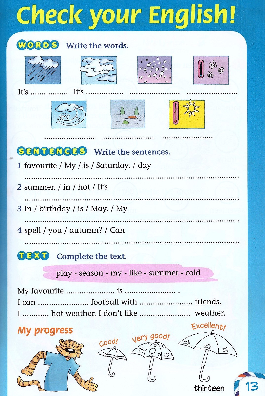 Изображение Join Us for English 3 Pupil's Book страница 11